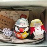 J-1 起き上がりこぼし童話カップルBOX 「白雪姫」 現物1点のみ ¥5,000-(税込)